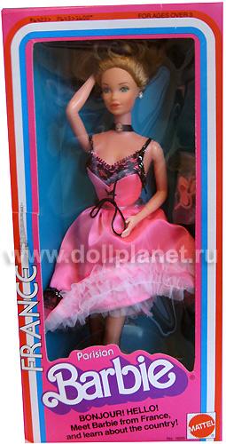 Коллекционная кукла Барби Dolls of the World Barbie Parisian 1980