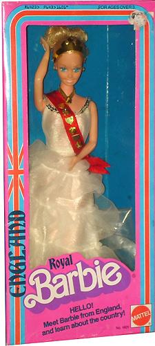 кукла Барби Royal Barbie 1980 серия Куклы Мира