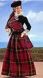 Коллекционная Барби шотландка 1981 Scottish Barbie