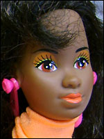 Молд spanish hispanic Barbie 1983
