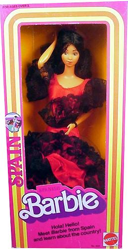 Коллекционная кукла Барби-испанка Spanish Barbie 1983 года