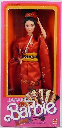 Японская кукла Барби Japanese Barbie 1985