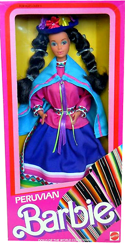 Коллекционная кукла Барби Peruvian Barbie 1986