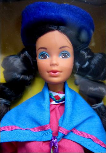 Кукла Барби перуанка Peruvian Barbie 1986