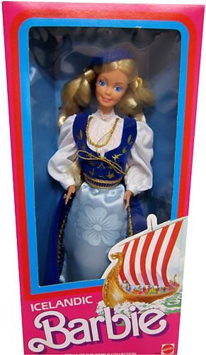 Куклы мира Барби Исландия Icelandic Barbie