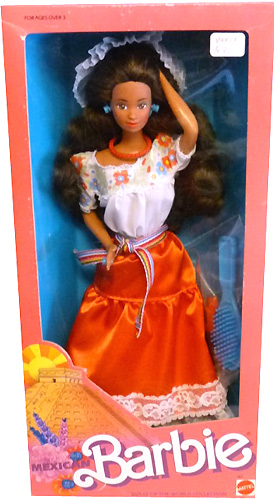 Коллекционная кукла Барби-мексиканка Mexican Barbie