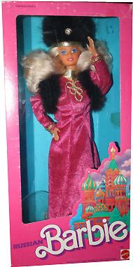 Коллекционная русская Барби Russian Barbie 1989