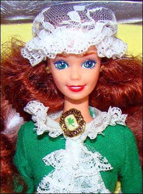 Коллекционная кукла Барби Ирландия