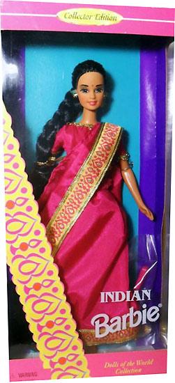 Коллекционная кукла Барби Индия