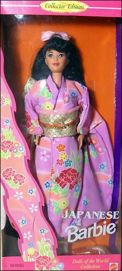 Японская кукла Барби коллекционная Dolls of the World