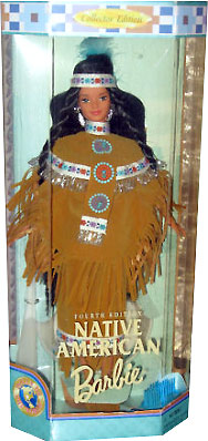 Кукла Барби коллекционная индейская девушка