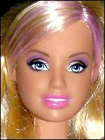 Молд Барби 2005 года большая голова