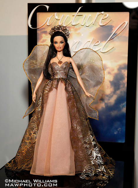 Коллекционная кукла Барби ангел Couture Angel