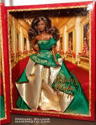 Коллекционная кукла Барби новогодняя подарочная