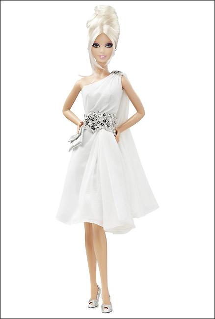 Коллекционная кукла Барби платина Pinch of Platinum