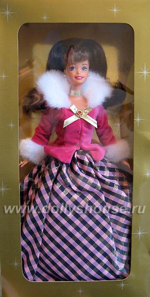 Коллекционная кукла Barbie Winter Rhapsody брюнетка