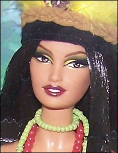 Барби Амазония Dolls of the World Barbie