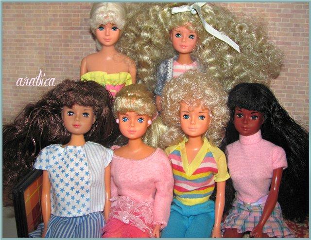 Коллекция кукол Бетти tong