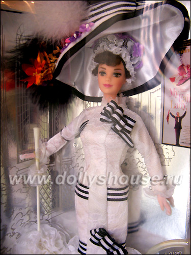 Коллекционная кукла Барби Моя Прекрасная Леди на скачках Ascot