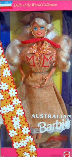 Кукла Барби австралийка