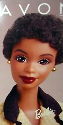 темнокожая Барби коллекционная