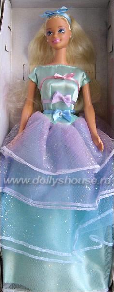 коллекционная кукла Барби весеннее чаепитие