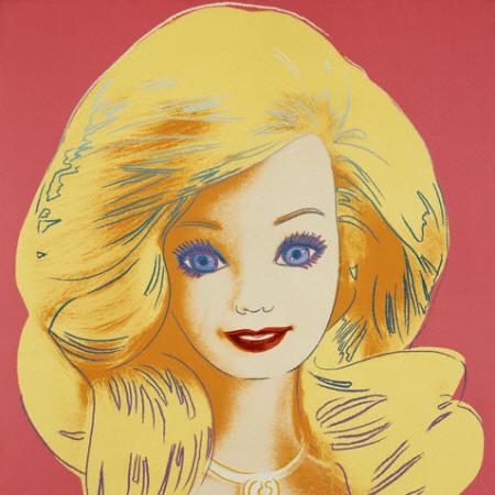 кукла Барби Энди Уорхол