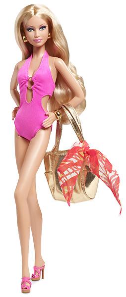 Фото коллекционной Барби Basics 003