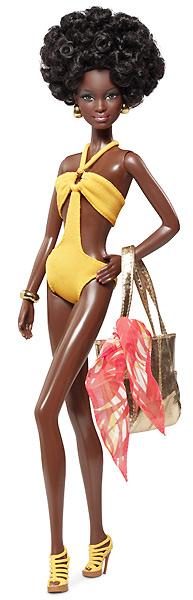 Коллекционная кукла Барби серия базовая 003