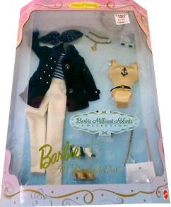 одежда для куклы Барби морская прогулка