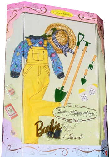 Костюм садовода для Барби