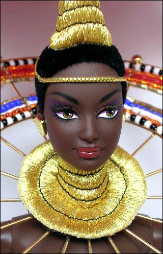 Барби Богиня Африки Barbie Goddess of Africa от Боба Мэкки