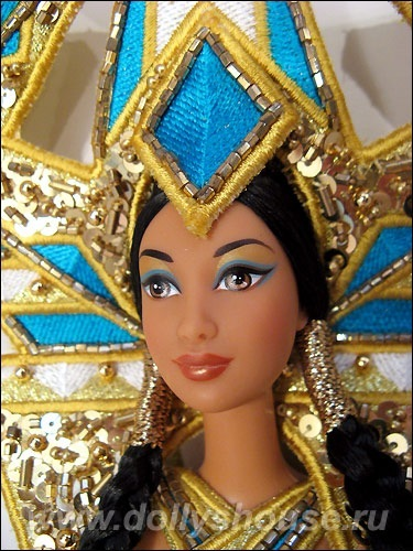 Коллекционная кукла Барби от Боба Мэкки Богиня Америк Goddess of the Americas Barbie Fantasy Goddess