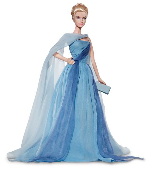 Barbie as Grace Kelly. Портретная Барби Грейс Келли