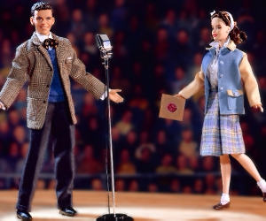 Коллекционная кукла Барби сет Barbie loves Frank Sinatra
