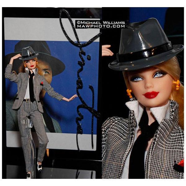 Коллекционная кукла Барби Barbie loves Frank Sinatra