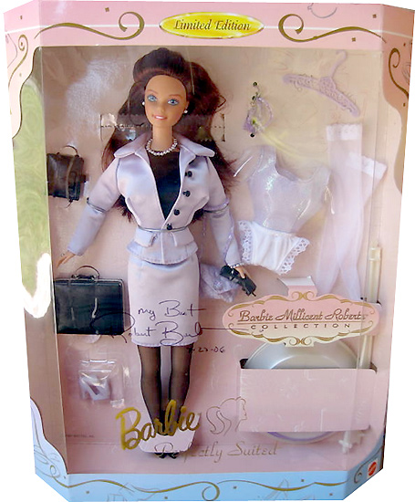 Коллекционная кукла Барби Barbie Millicent Roberts Perfectly Suited
