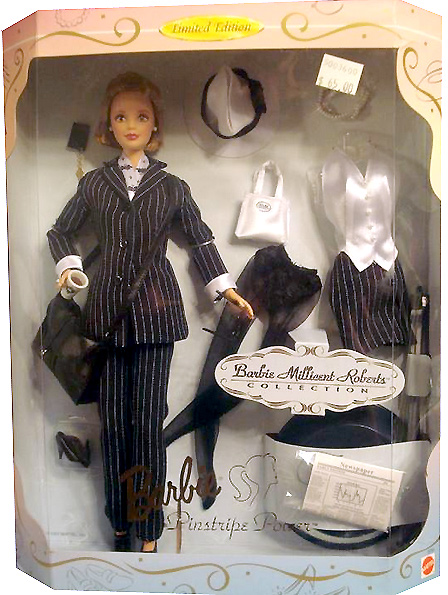 Коллекционная Barbie Millicent Roberts Pinstripe Power