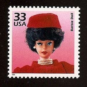 Марка с изображением Барби: Celebrate the Century (1960s)