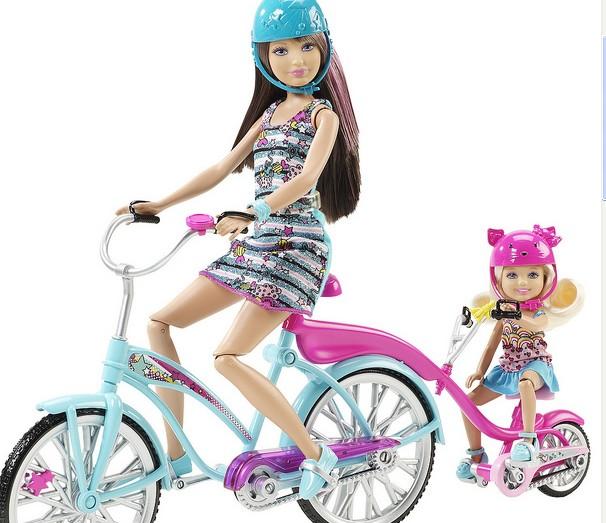 Велосипед для кукол Barbie Sisters Bike for Two