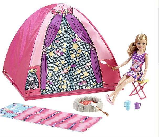 Набор палатка для куклы Стейси Barbie Sisters
