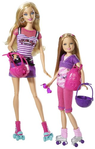 Barbie Sisters (Сестры Барби) — Барби, Скиппер, Стейси, Челси в сетах-2011 и с аксессуарами