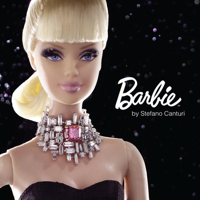 Самая дорогая Барби в мире носит бриллианты от Стефано Кантури