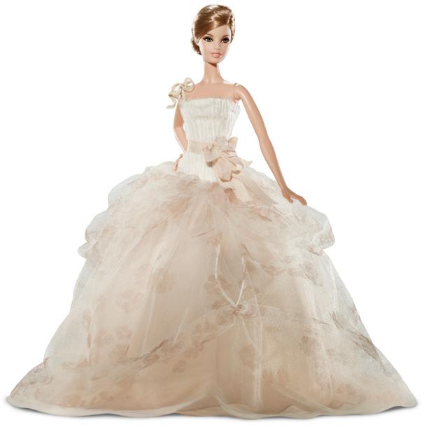 Коллекционная кукла Барби в платье от Веры Вонг Vera Wang Bride Barbie 2011