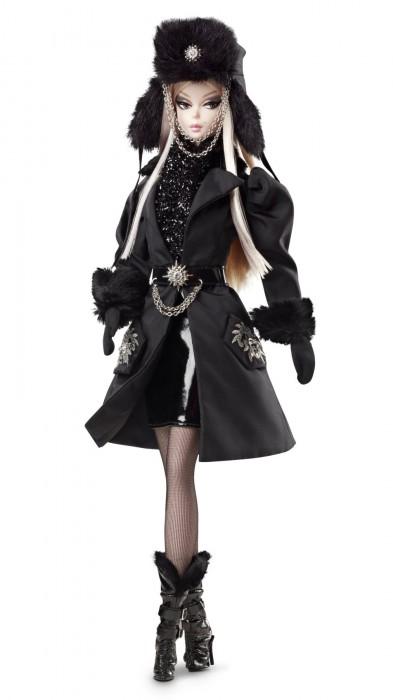 коллекционная кукла Барби Силкстоун Verushka