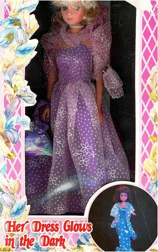 коробка куклы Betty Teen