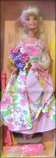 Нарядная кукла Барби Avon Barbie Spring Petals