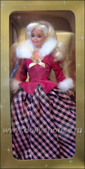 коллекционная кукла Барби Avon Barbie Winter Rhapsody