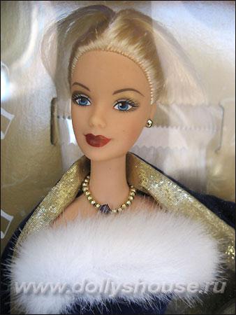 коллекционная кукла новогодняя