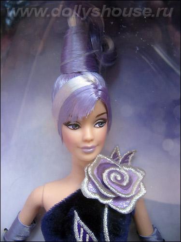 Коллекционная кукла Барби серебряная роза от Боба Мэкки